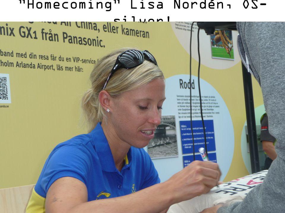 """""""Homecoming"""" Lisa Nordén, OS- silver!"""