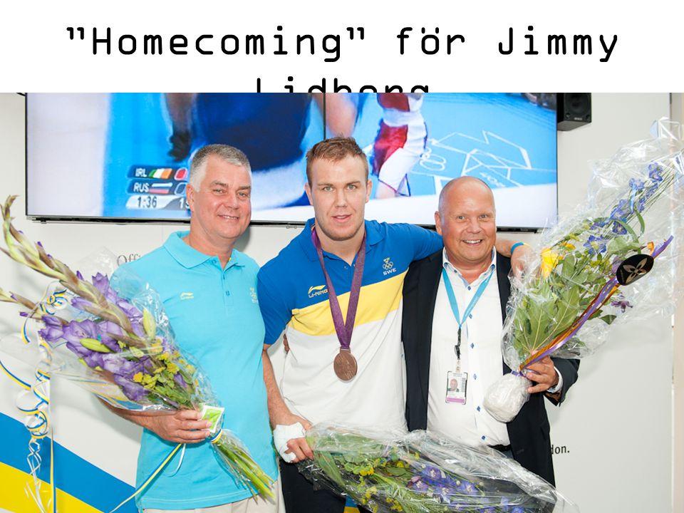 Homecoming för Jimmy Lidberg