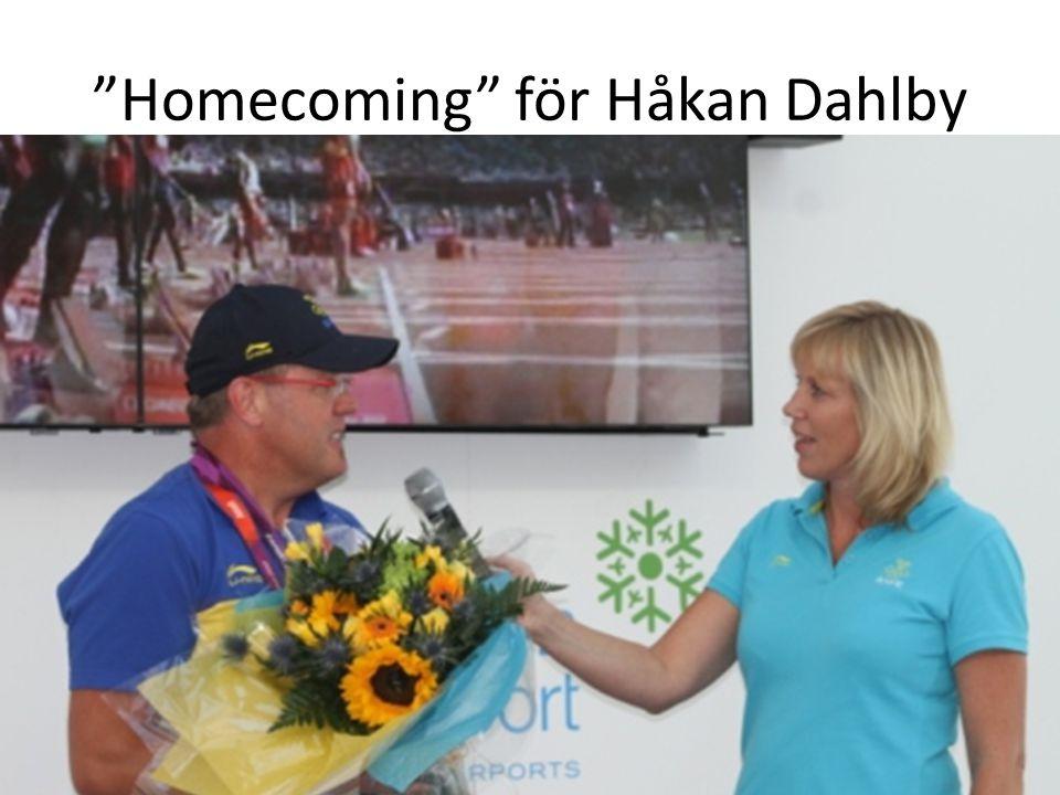 """""""Homecoming"""" för Håkan Dahlby"""
