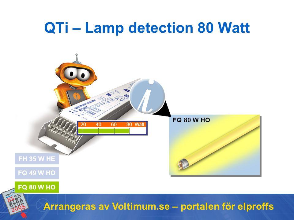 Arrangeras av Voltimum.se – portalen för elproffs QTi – Wiring of the ECG Identical wiring for all 1-lamp versions QTi 1x...