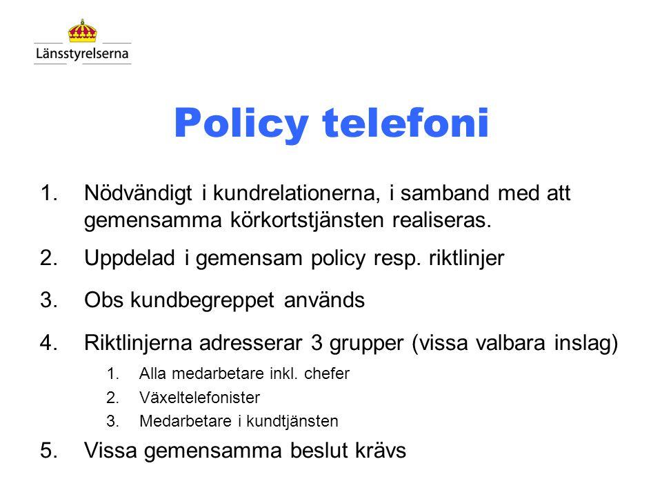 Lansstyrelsen.seKundmöten Kanaler KörkortsportalenTeleservice Kundservice via webb o telefoni Supporttjänster Intern service Information och tjänster
