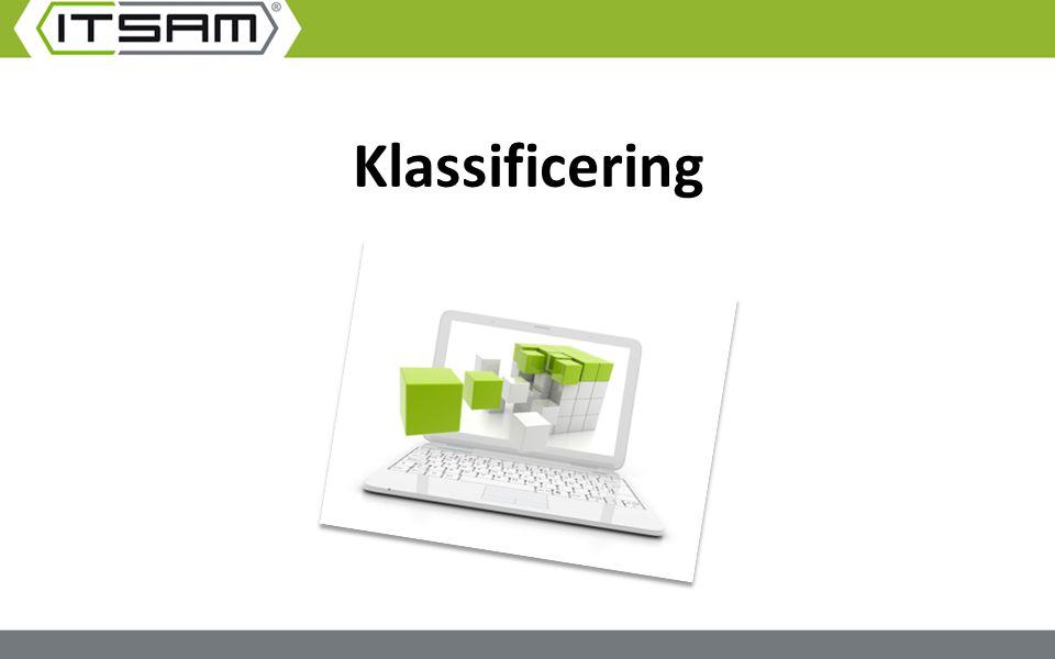 Klassificering