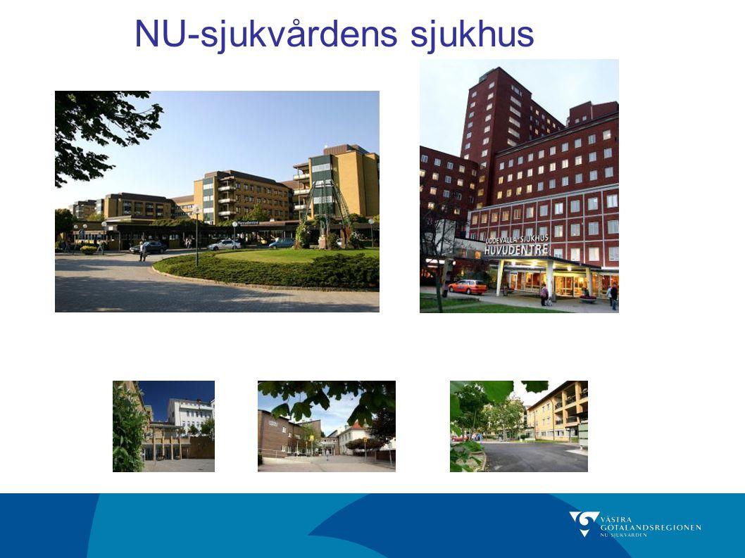 Förvaltning/presentationens namn NU-sjukvårdens upptagningsområde och dess kommuner Området har cirka 270 000 invånare