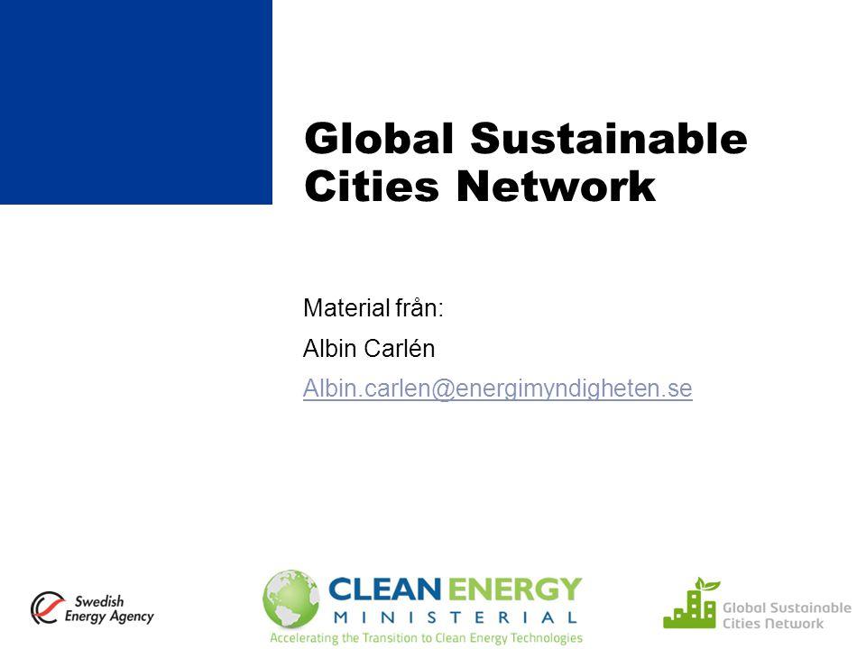 Clean Energy Ministerial Startades på amerikanskt initiativ efter Kph- mötet 2009 Globalt högnivåforum (ministrar träffas) för främjande av energismarta lösningar Privata och offentliga aktörer diskuterar tillsammans Amerikanskt : Strukturen inrikta på handling Tydlig inriktning mot kommersiella lösningar /affärsmodeller Består av G20 + Norden