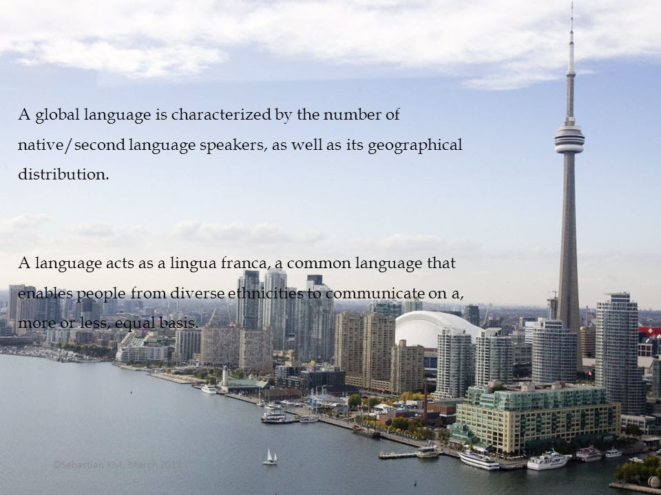 What is a Global Language.