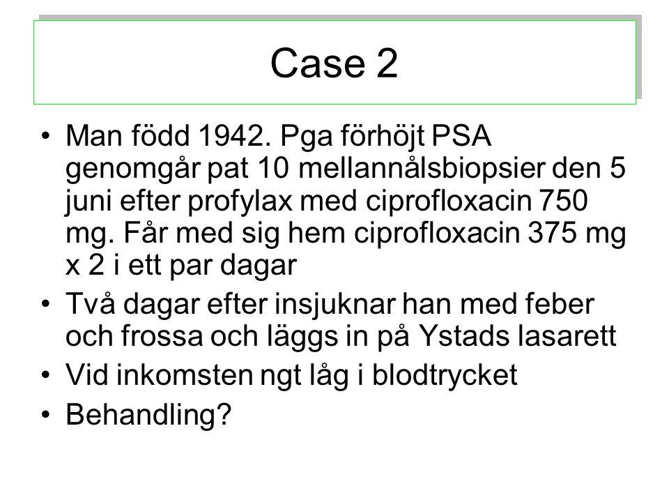 1.1.ESCHERICHIA COLI Växt av i blod Betalaktamas av ESBL-typ påvisat.