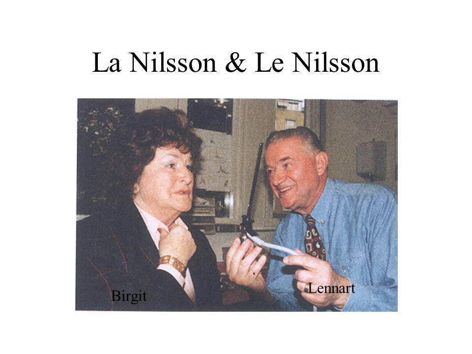 La Nilsson & Le Nilsson Birgit Lennart