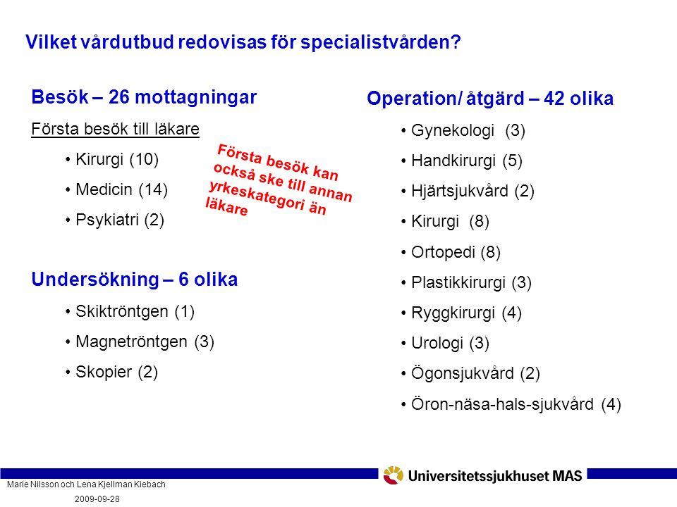 Marie Nilsson och Lena Kjellman Kiebach 2009-09-28 Vad innebär vårdgarantin och hur fungerar den? PatientForum Malmö 2009-09-28 Vilket vårdutbud redov
