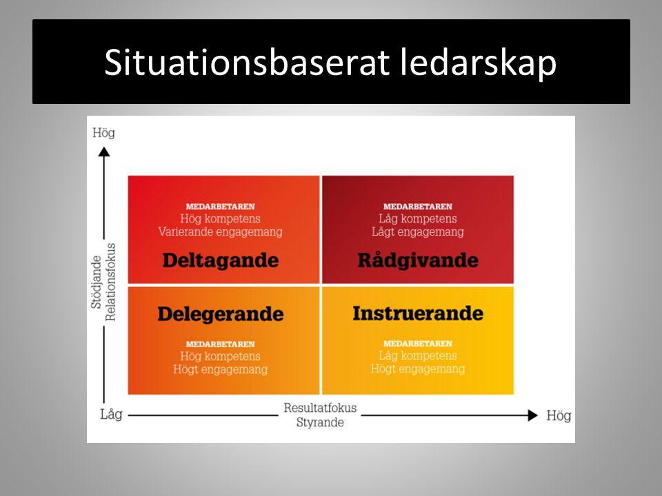 Situationsbaserat ledarskap