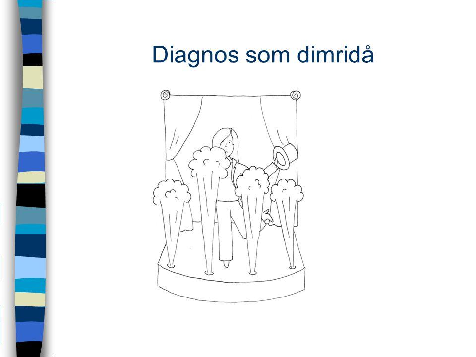 Diagnos som dimridå