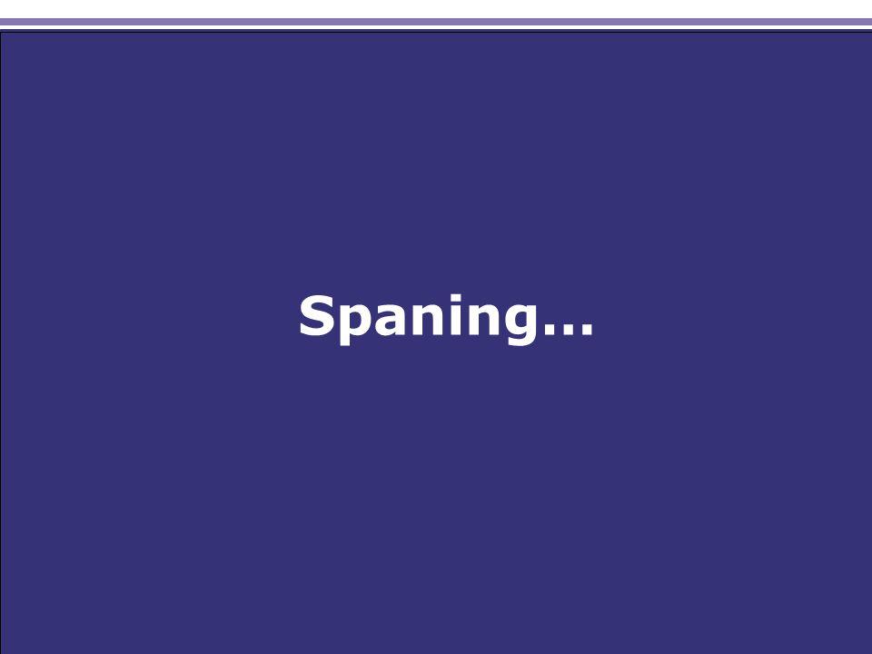 Spaning…