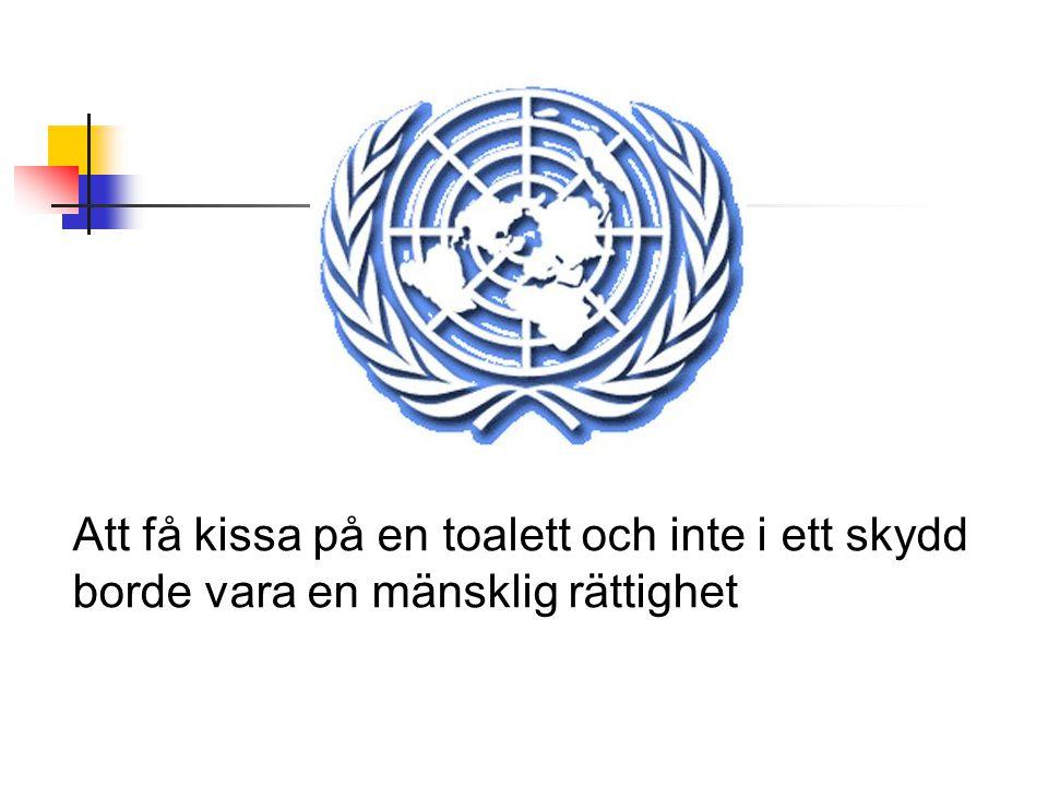 Att få kissa på en toalett och inte i ett skydd borde vara en mänsklig rättighet
