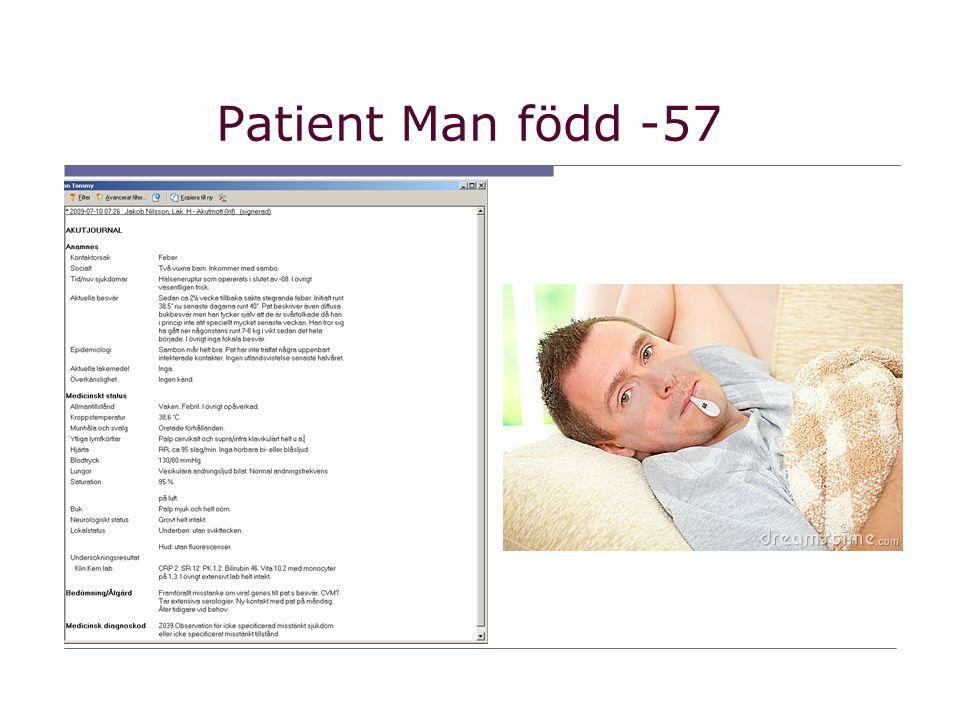 Patient Man född -57
