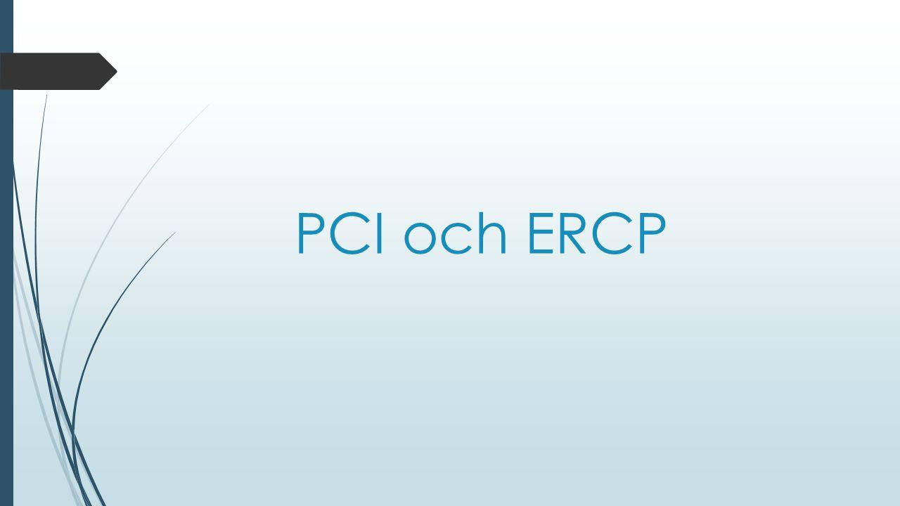 PCI och ERCP