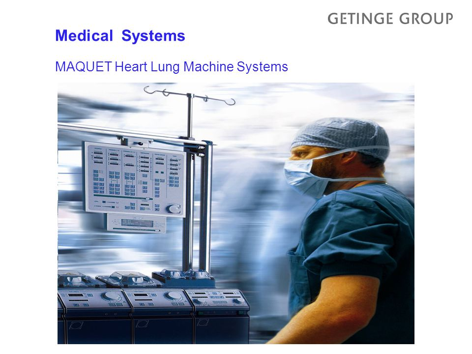 MAQUET Heart Lung Machine Systems Medical Systems