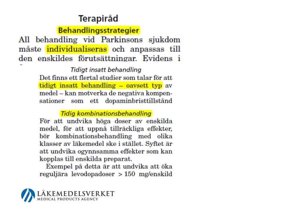 Hjärnligen Neurologiska Kliniken-Lund Skånes universitetssjukhus Scand Modis Consensus statements Details on the role of DBS, Duodopa and ApoGo in Advanced PD, 2013 and new versions, 2014 coming www.swemodis.se