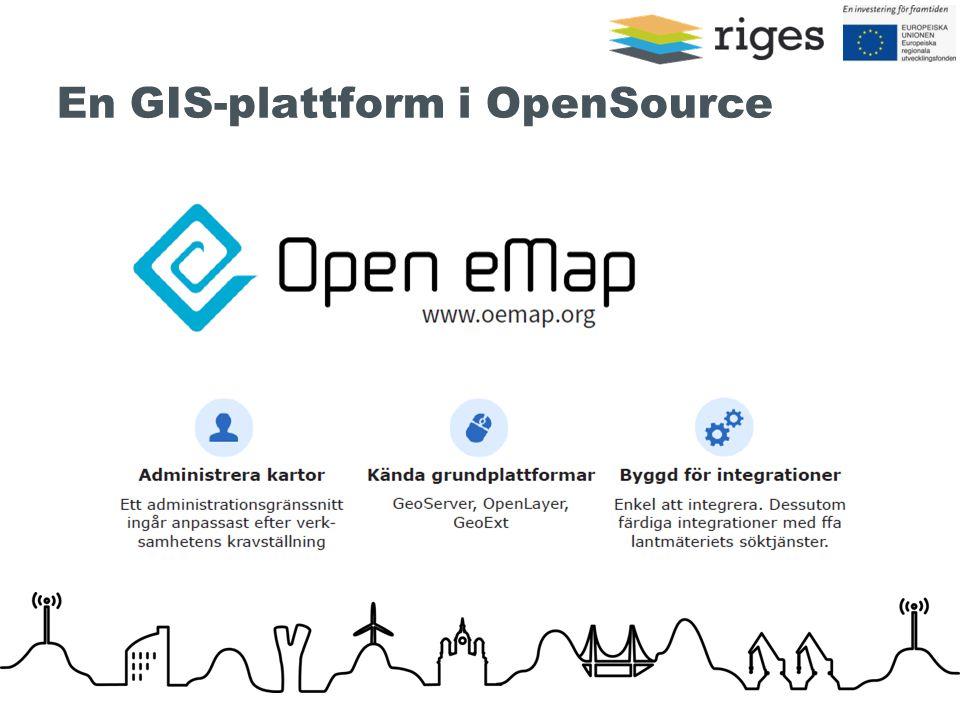 En GIS-plattform i OpenSource