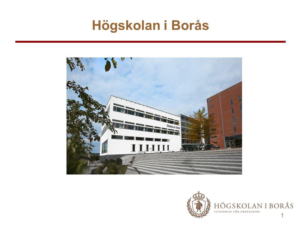 1 Högskolan i Borås