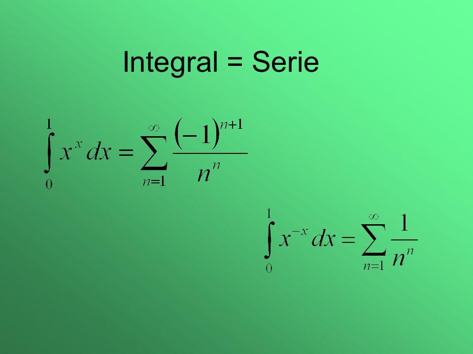 Integral = Serie