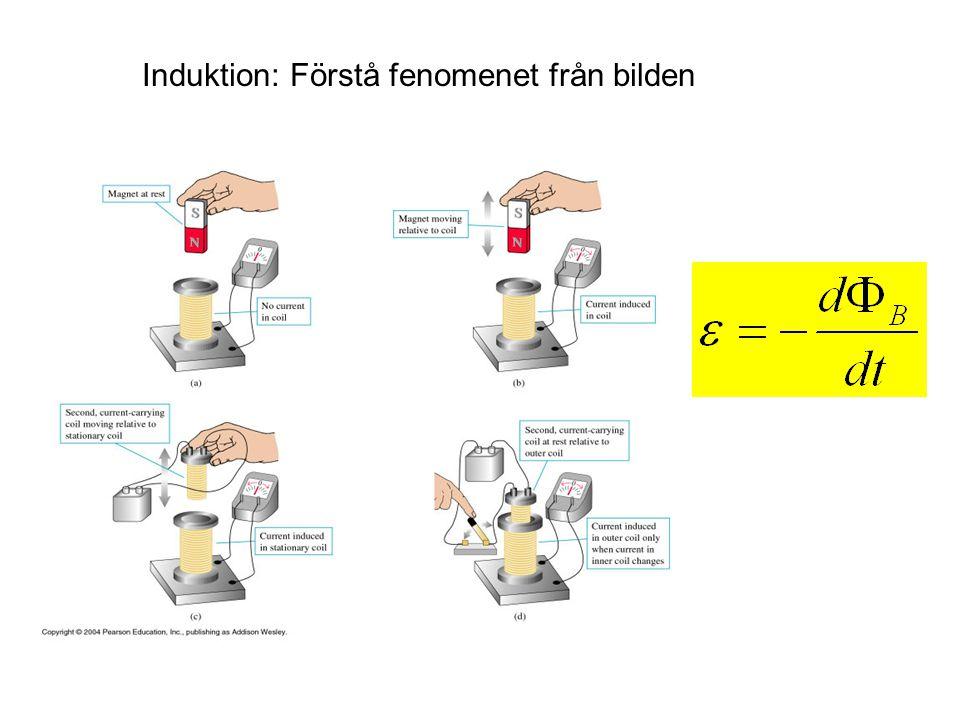 Induktion: Förstå fenomenet från bilden