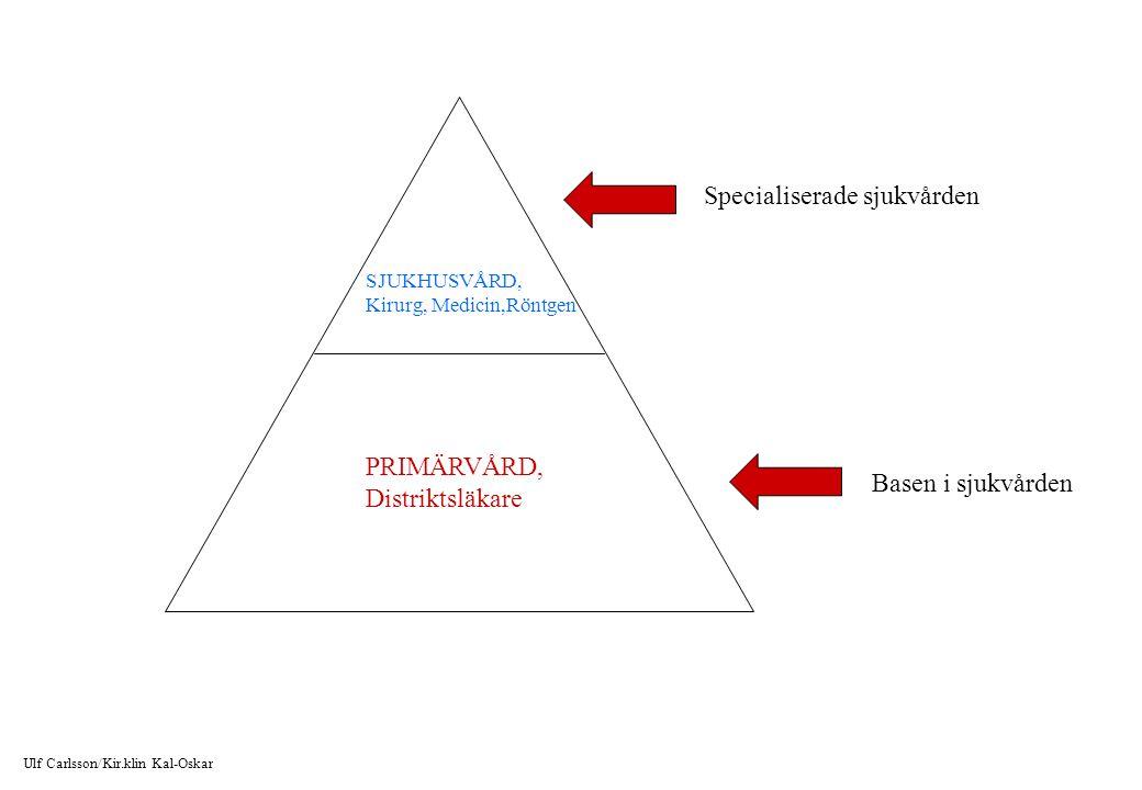 Snabbutredning av patienter med cancer i magtarmkanalen Från matstrupen till och med ändtarmen i Kalmar län 224 fall ( 2008 ) Matstrupen: 8/5 Magsäcken: 12/5 Tunntarmen: 3/2 Tjocktarmen: 56/63 Ändtarmen: 42/28 M/K Det finns 28 vårdcentraler i Kalmar län.