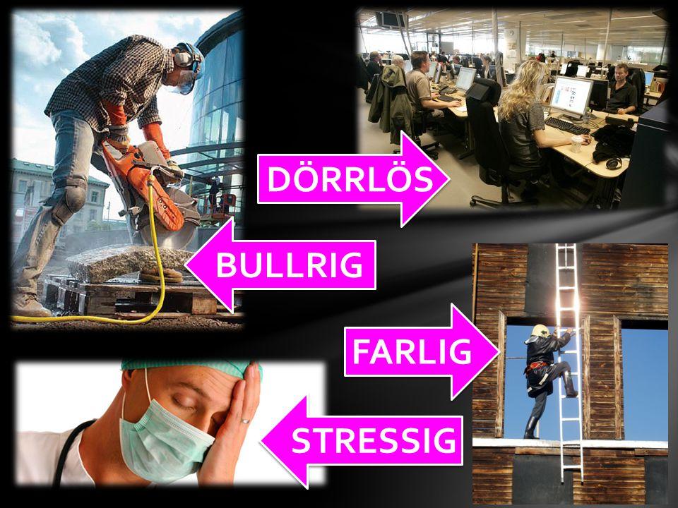BULLRIG DÖRRLÖS STRESSIG FARLIG