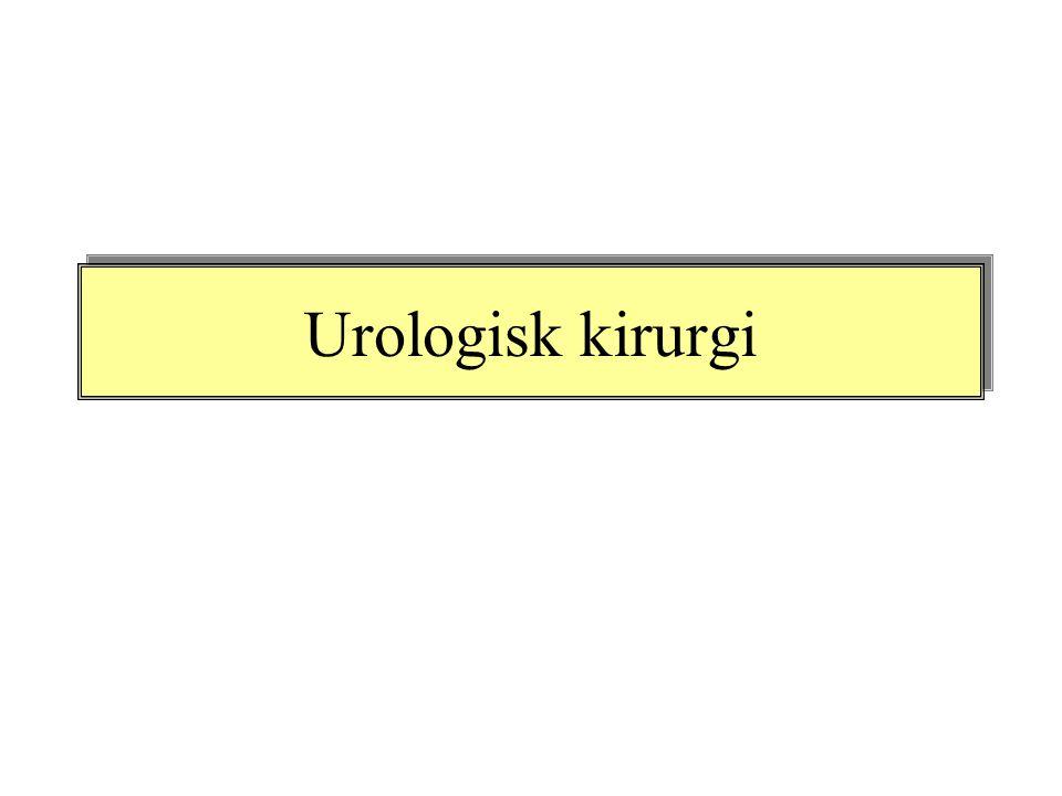 Urologisk kirurgi
