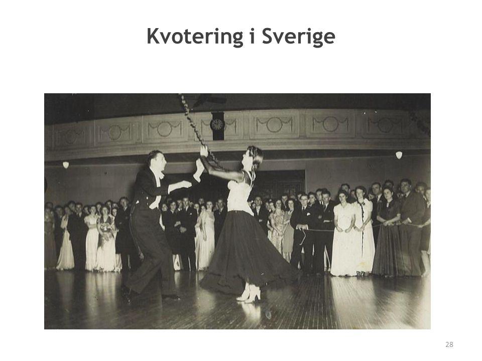 Kvotering i Sverige 28