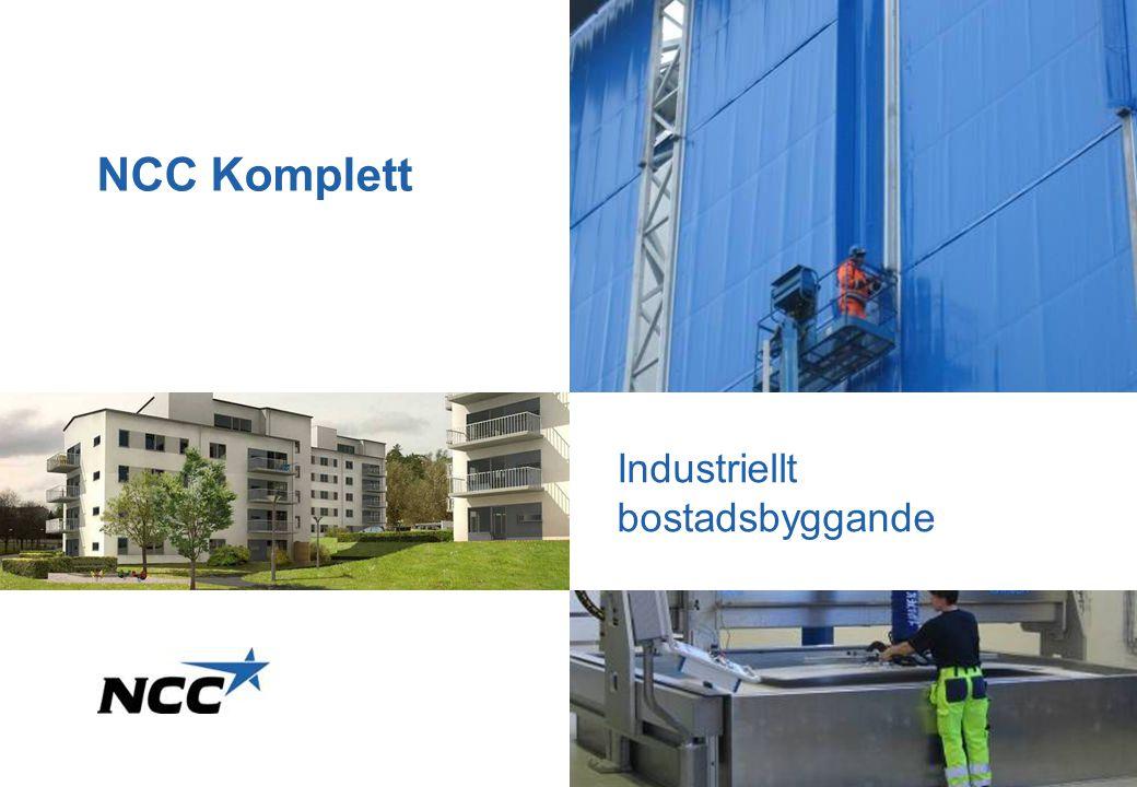 NCC Komplett Industriellt bostadsbyggande