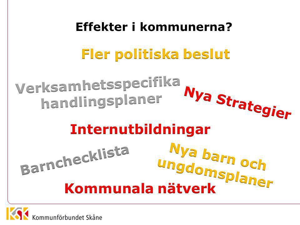 Effekter i kommunerna