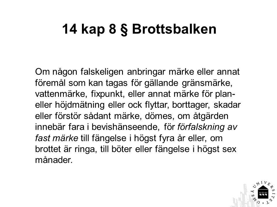 Fastighetsbildning 1 kap.