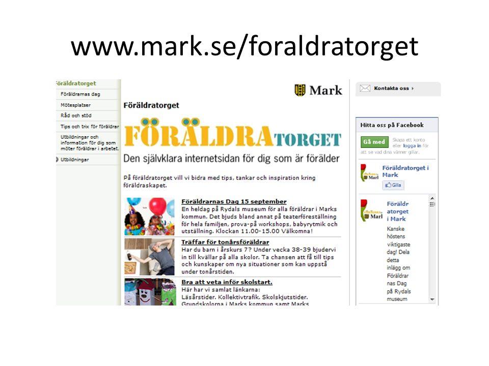 www.mark.se/foraldratorget