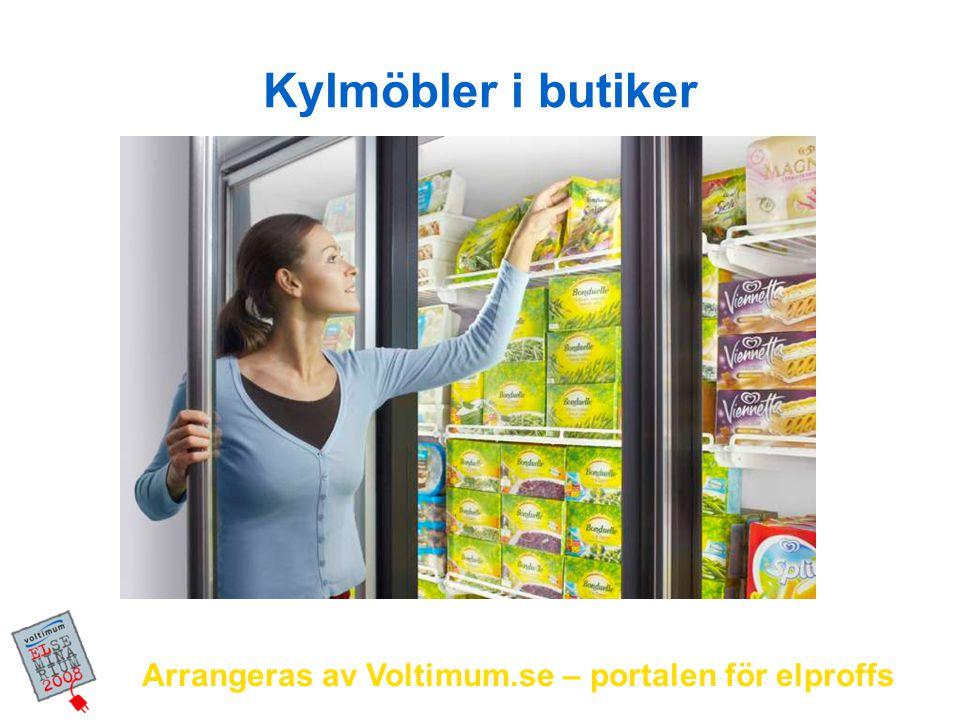 Arrangeras av Voltimum.se – portalen för elproffs Kylmöbler i butiker
