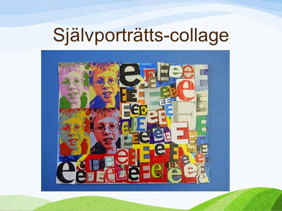 Självporträtts-collage