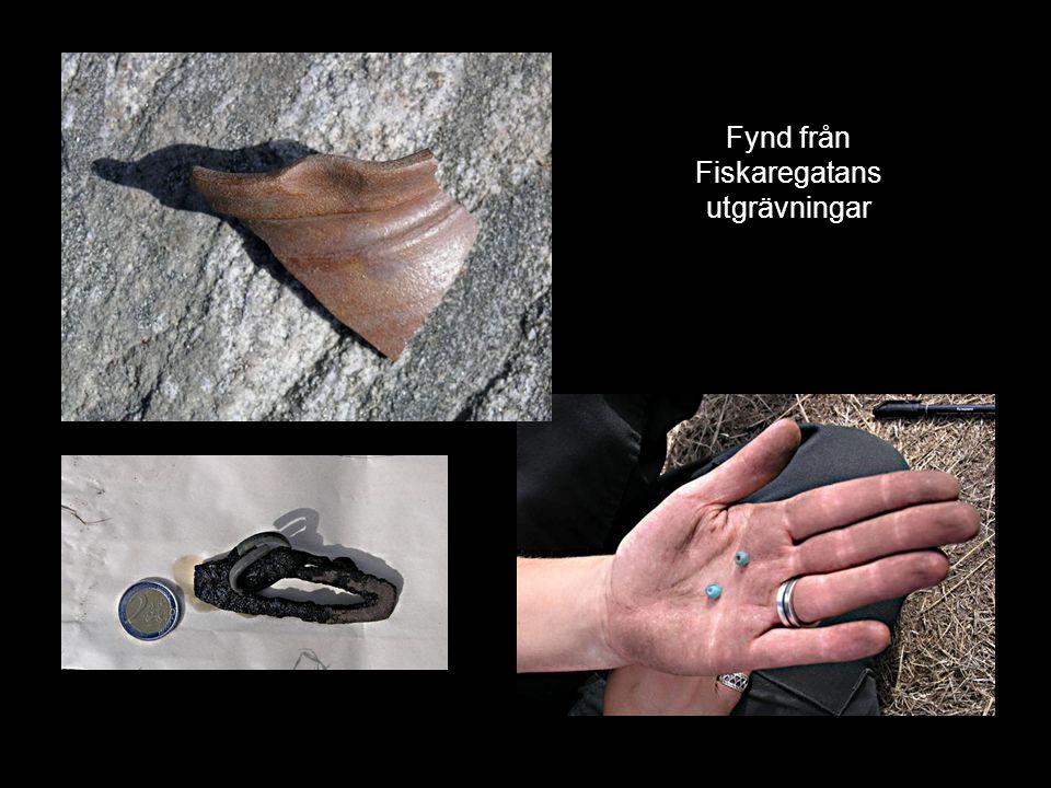 Fynd från Fiskaregatans utgrävningar