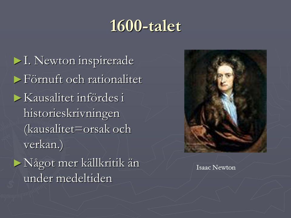 1600-talet ► I.
