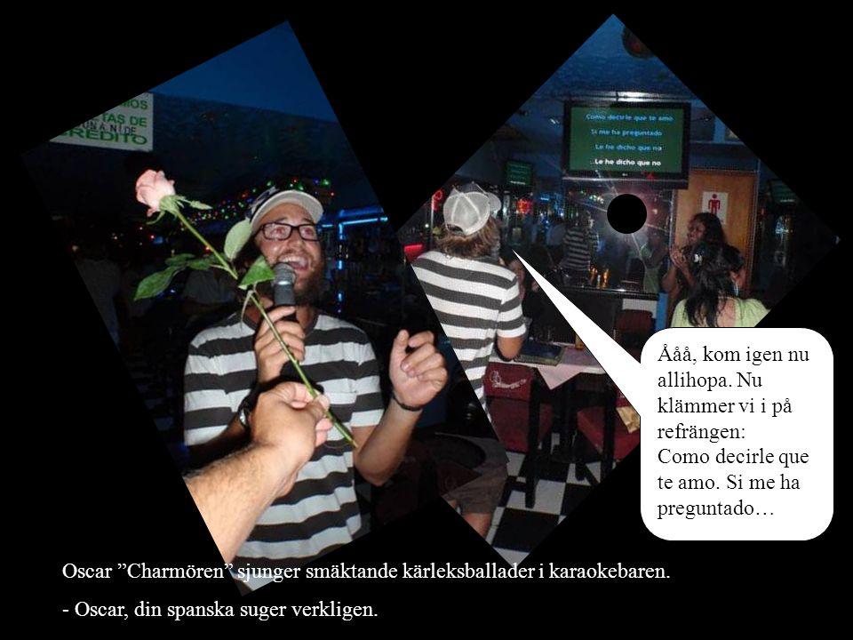 Amore amore amooooore… Smörsångarnas smörsångare Niklas ger Daniel Den där blicken .