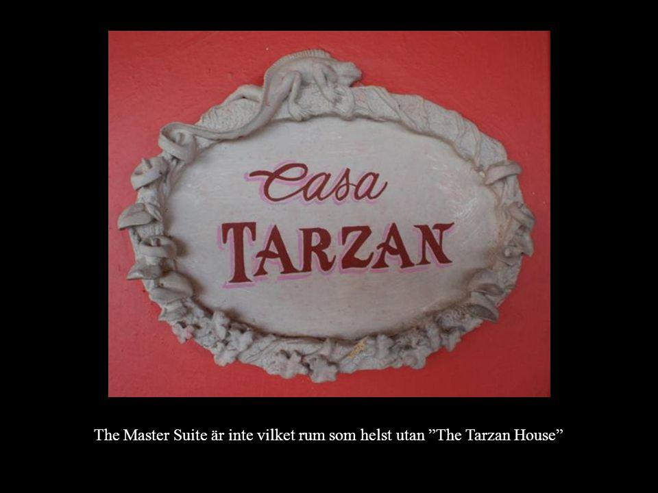 """The Master Suite är inte vilket rum som helst utan """"The Tarzan House"""""""