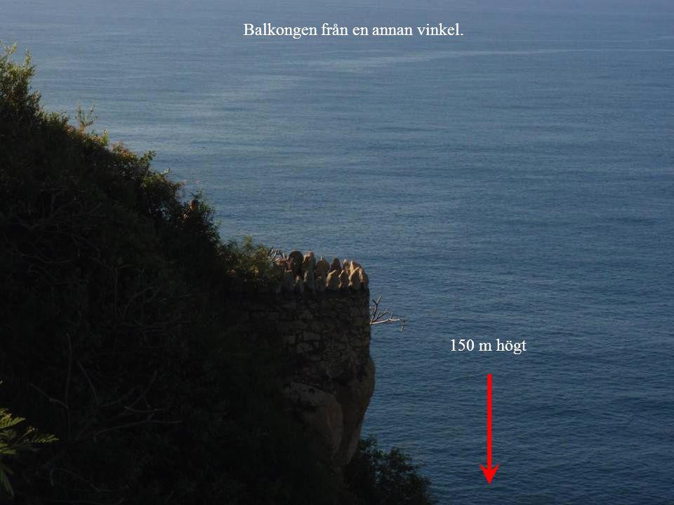 150 m högt Balkongen från en annan vinkel.