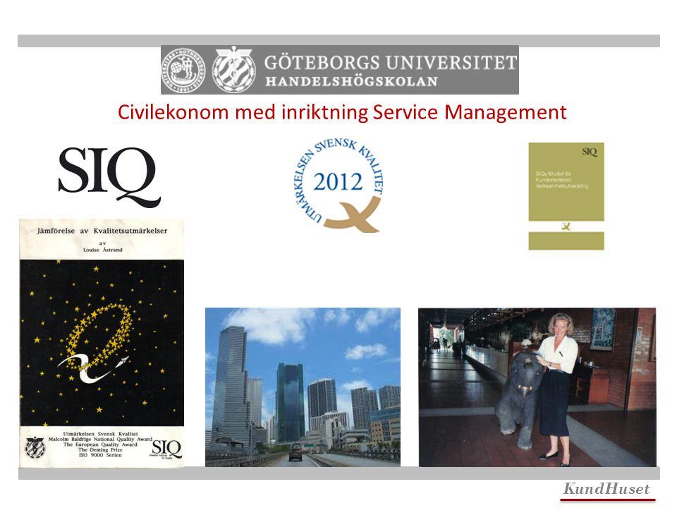 KundHuset Civilekonom med inriktning Service Management