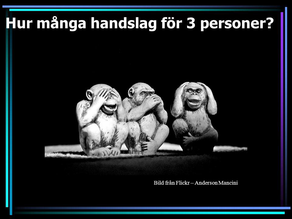 Hur många handslag för 2 personer 1