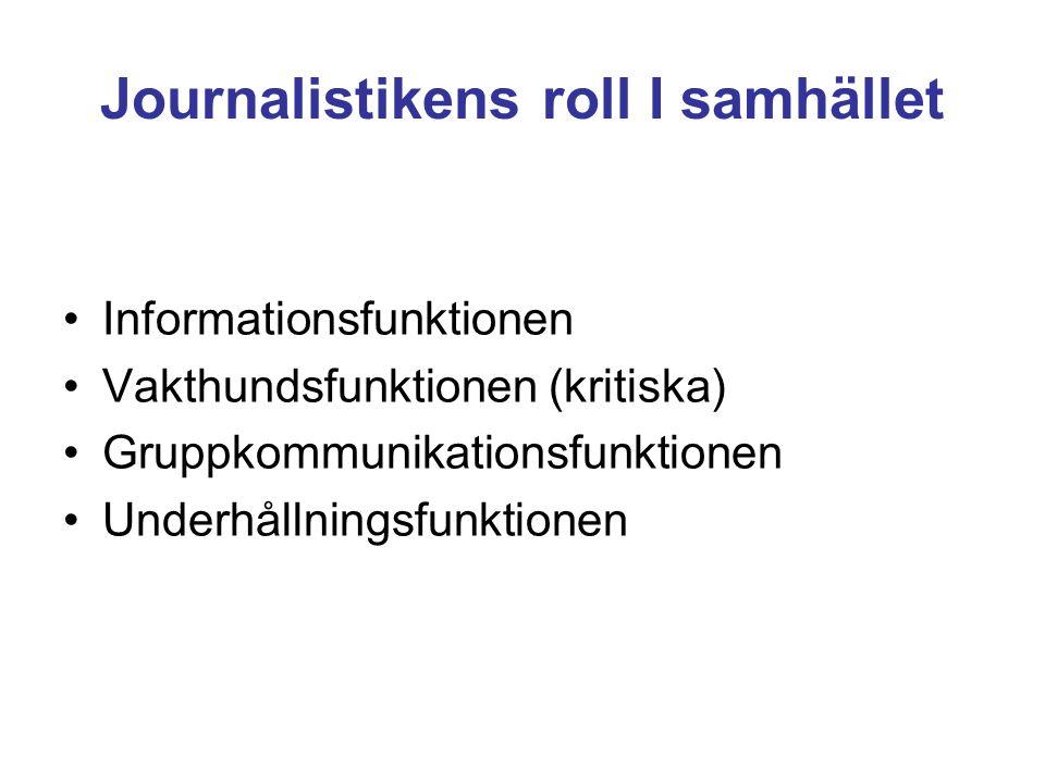 Än det svenska medielandskapet då.