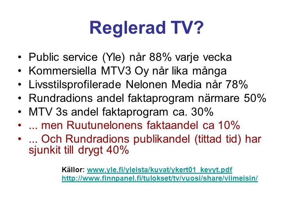 Är finländsk journalistik finlandiserad.Realism, hänsyn eller underdånighet.
