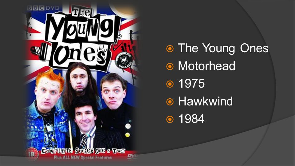  The Young Ones  Motorhead  1975  Hawkwind  1984