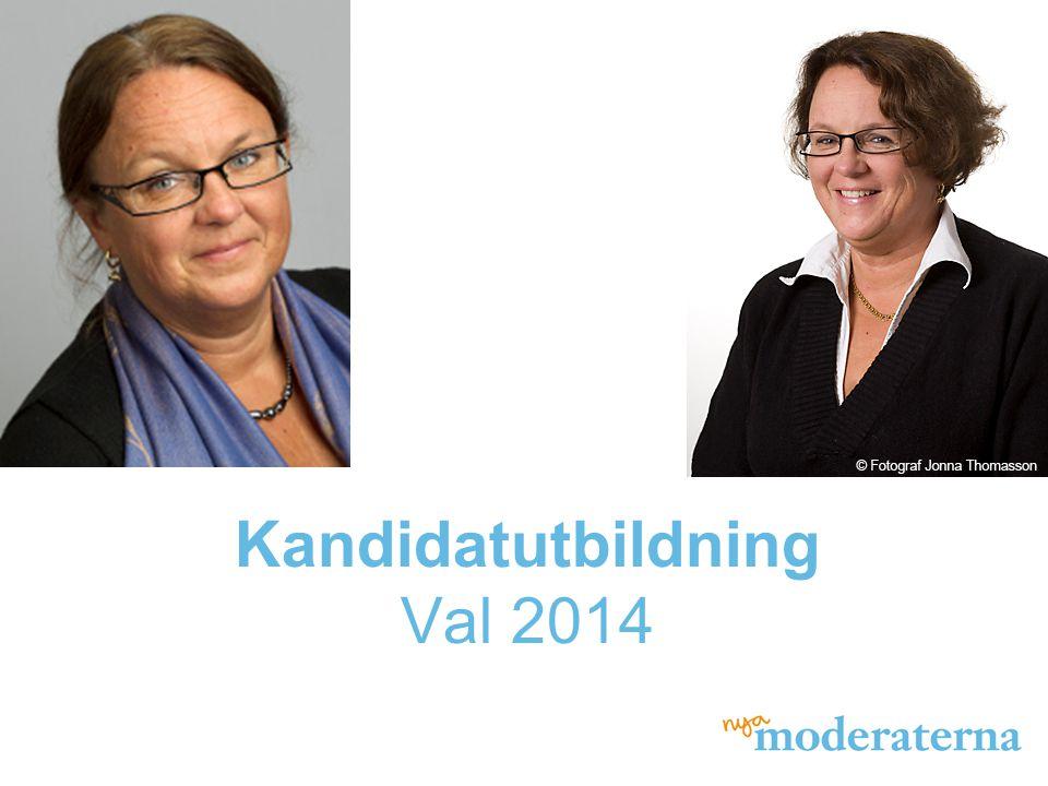 Kandidatutbildning Val 2014