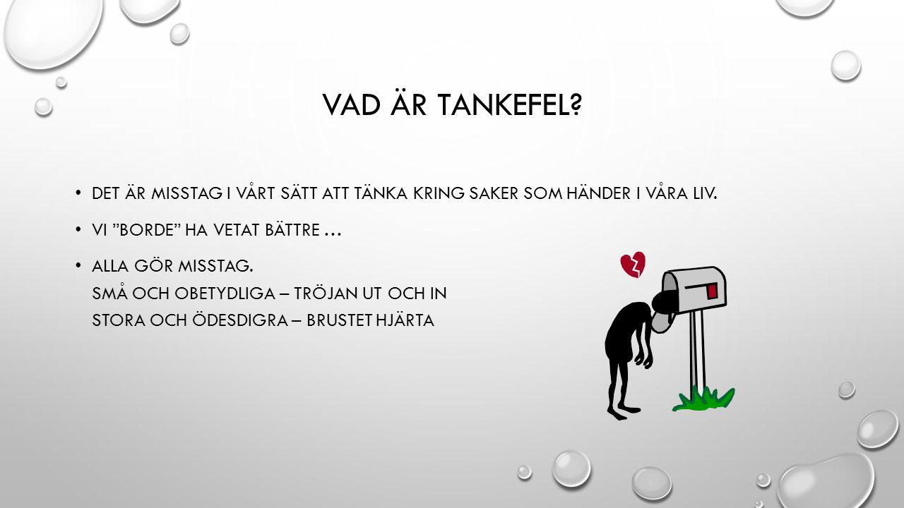 VAD INNEBÄR TANKELÄSNING.