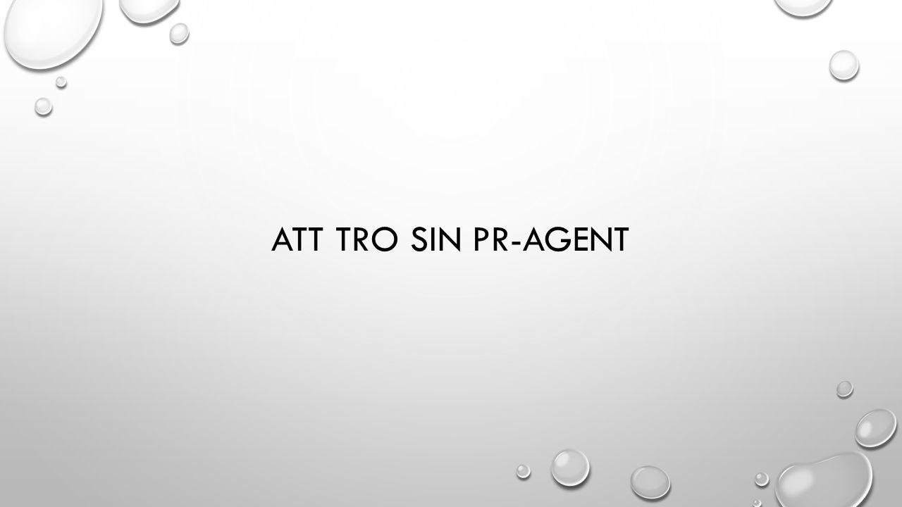 ATT TRO SIN PR-AGENT