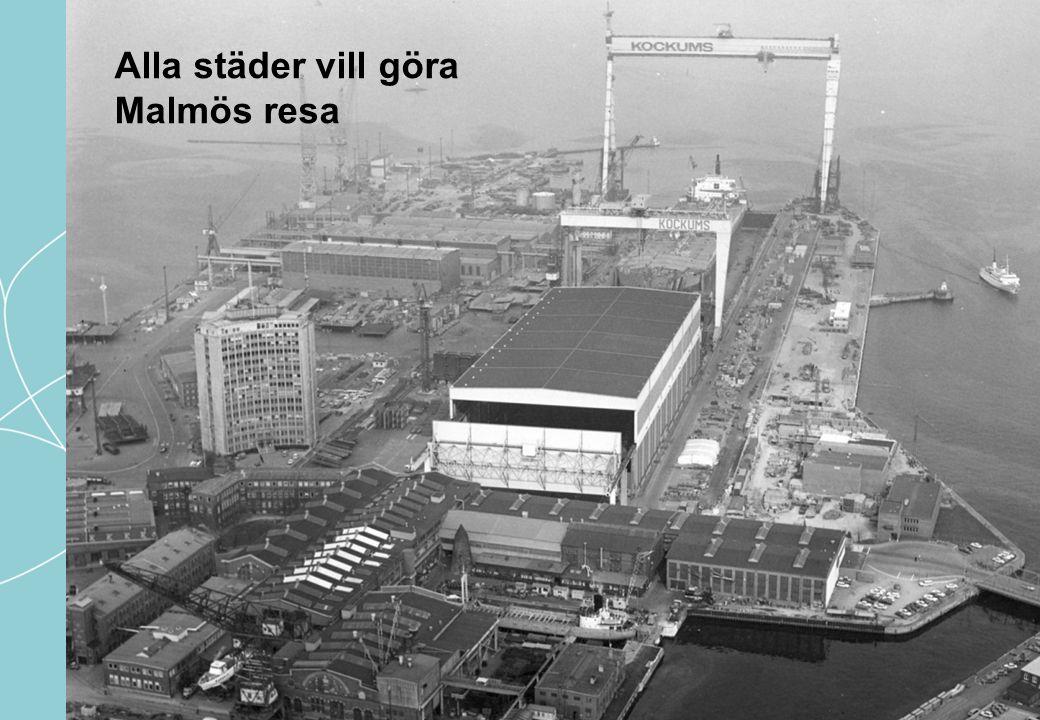 Alla städer vill göra Malmös resa
