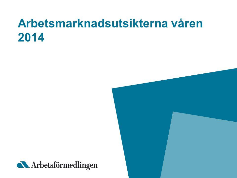Arbetsmarknadsutsikterna våren 2014