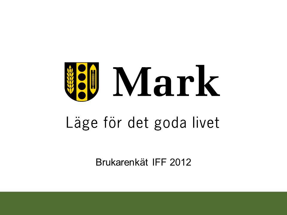 Brukarenkät IFF 2012